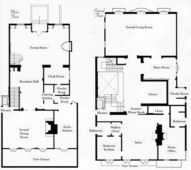 San francisco floor plans for Floor design sf